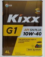 KIXX G1 SN PLUS 10w40 4l