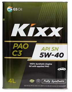 KIXX PAO С3 SN 5w40 4L