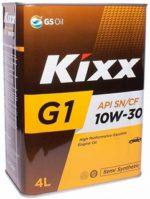 Kixx g1 sn plus 10w30 4l